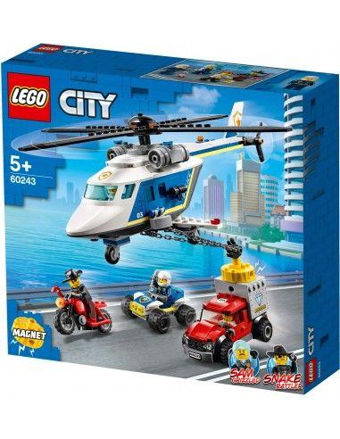 LEGO CITY Pościg helikopterem 60243