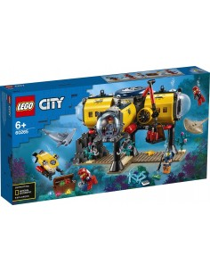 LEGO CITY Baza badaczy...